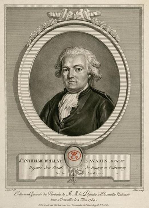 Louis-Jean Allais   PortraitJean Anthelme Brillat-Savarin de